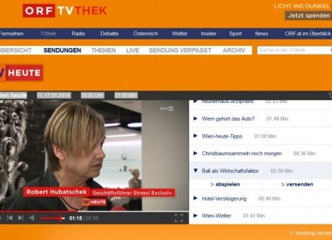 ORF Wien zu Gast bei Strassl Exklusiv