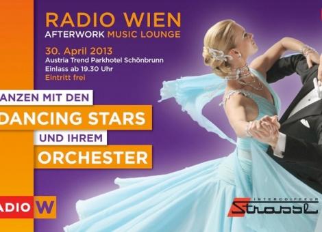 Radio Wien Afterwork Music Lounge mit den Dancing Stars und...