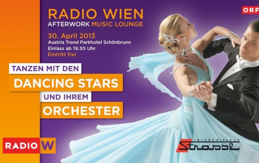 Radio Wien Afterwork Music Lounge mit den Dancing Stars und Ihrem Orchester